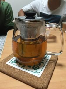 食後のほうじ茶