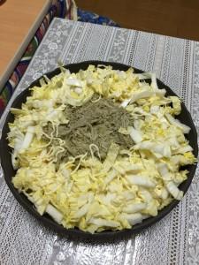 山芋と白菜の和風サラダ