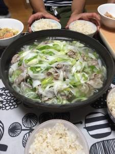 大根と豚肉のお鍋風スープ