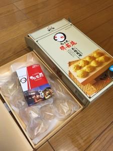 兵庫県明石市の名物「明石焼」 (塾長からのお土産) いつもありがとうございます