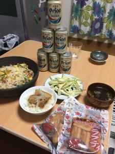 今回は沖縄メニューでした!