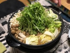 野菜たっぷり担々風鍋