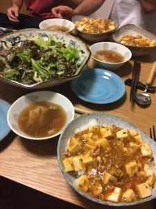 今回の夕食