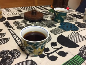 コーヒーを淹れて
