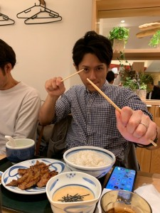 外部臥竜塾生の村橋先生 塾に参加してくださりありがとうございました