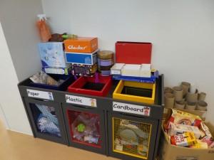 廃材回収のボックス