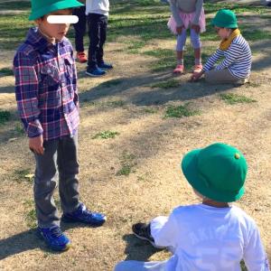 すいすい組(5歳児クラス)の子たち