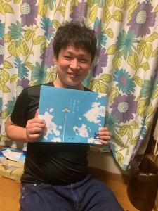 森口先生からのお土産。笑顔が素敵です