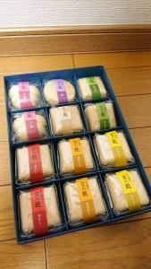 色々な味噌汁のセット